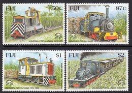 Fiji 1999 Sugar Trains Set Of 4, MNH, SG 1064/7 (BP2) - Fiji (1970-...)