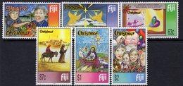 Fiji 1999 Christmas Set Of 6, MNH, SG 1068/73 (BP2) - Fiji (1970-...)