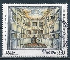°°° ITALIA 2002 - TEATRO DELLA CONCORDIA A MONTE CASTELLO DI VIBIO °°° - 6. 1946-.. Repubblica