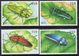 Fiji 2000 Beetles Insects Set Of 4, MNH, SG 1079/82 (BP2) - Fiji (1970-...)