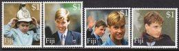 Fiji 2000 Prince William's 18th Birthday Set Of 4, MNH, SG 1097/1100 (BP2) - Fiji (1970-...)