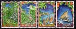 Fiji 2000 Christmas Set Of 4, MNH, SG 1111/4 (BP2) - Fiji (1970-...)