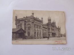 Odense. - Statsbanegaarden. (24 - 12 - 1907) - Danemark