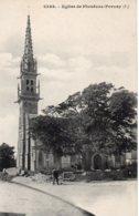 Cpa église De Plonévez Porzay - Plonévez-Porzay