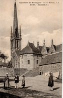 Cpa Sizun Clochers De Bretagne - Sizun