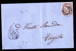 A6222) Spanien Spain Brief 1869 N. Anujillo - 1868-70 Gobierno Provisional