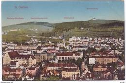 St. Gallen Gegen Norden, Freudenberg, Hadwig, HSG, Koloriert - SG St. Gallen