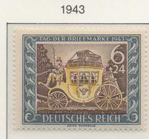 PIA - GERMANIA - 1943  : Giornata Del Francobollo -  (Yv 747) - Giornata Del Francobollo