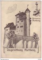 Metzerlen-Mariastein, Jugendburg Rotberg, Illustration - SO Soleure
