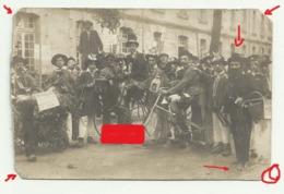 FONTENAY LE COMTE  Carte Photo CAVALCADE CHAR  Photo  G. JAUNET Dans L'état..... - Fontenay Le Comte