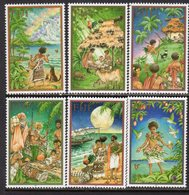 Fiji 2001 Christmas Set Of 6, MNH, SG 1139/44 (BP2) - Fiji (1970-...)