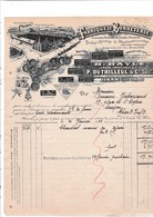 22-P.Duthilleul & Cie Fabrique De Bonneterie Filature & Teinture De Laines à Tricoter  Dinan (Côte D'Armor) 1922 - Textile & Clothing