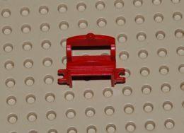 Lego Selle De Cheval Rouge Avec 2 Pinces Ref 4491b - Lego Technic