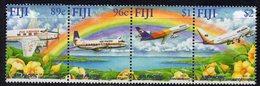 Fiji 2001 50th Anniversary Of Air Pacific Strip Of 4, MNH, SG 1149/52 (BP2) - Fiji (1970-...)