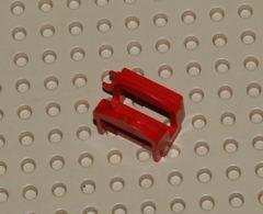 Lego Selle De Cheval Rouge Avec 1 Pince Ref 44914 - Lego Technic