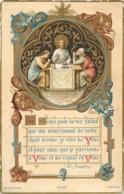 IMAGE PIEUSE CANIVET  JESUS PAIN DE VIE EDITION BLANCHARD 12 X 7.50 - Andachtsbilder