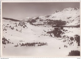 Valbella, Flugaufnahme, Blick Zum Montalin - GR Grisons