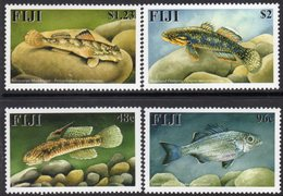 Fiji 2002 Freshwater Fish Set Of 4, MNH, SG 1158/61 (BP2) - Fiji (1970-...)