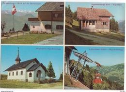 Rigi-Scheidegg, 4 Ansichten - SZ Schwyz
