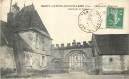 60 - SAINT CREPIN IBOUVILLERS - Chateau De Marivaux - Entrée De La Ferme En 1916 - Andere Gemeenten