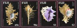 Fiji 2002 Murex Shells Set Of 4, MNH, SG 1166/9 (BP2) - Fiji (1970-...)