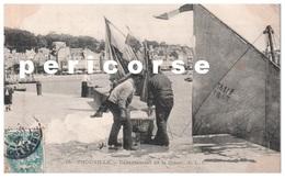 14 Trouville Embarquement De La Glace - Trouville