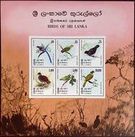 Sri Lanka 1979 Birds Minisheet MNH - Vogels
