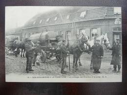 CPA - 19 - Nos Douaniers à La Frontière - Le Passage Des Chevaux à La Toise - Douane