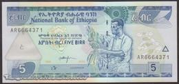 TWN - ETHIOPIA 47d - 5 Birr 2006 Prefix AR UNC - Etiopia