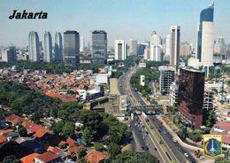1 AK Indonesien * Blick Auf Die Hauptstadt Jakarta - Luftbildaufnahme * - Indonésie