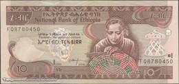 TWN - ETHIOPIA 48e - 10 Birr 2008 Prefix FQ UNC - Ethiopië