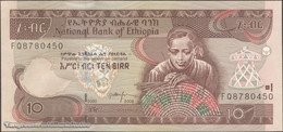 TWN - ETHIOPIA 48e - 10 Birr 2008 Prefix FQ UNC - Etiopía
