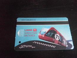 Titre De Transport LE MANS - LIGNE T1 ANTARES - Europe