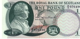 Scotland P.327 1 Pound 1967  Unc - Scozia
