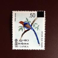 Sri Lanka 2005 Birds Surcharge MNH - Vögel