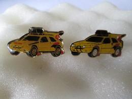 PIN'S   CITROEN  ZX  DAKAR  LOT 2 Different - Citroën