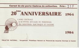 France Carnet Privé Porte Timbre Et Vignette Marcel Paul 1984 - Altri