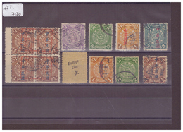 CHINA - 18 USED STAMPS   - !!!WARNING: NO PAYPAL!!! - COTE: -- € - Oblitérés