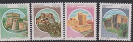 Italy Republic S 1516II-1521II 1994 Castles, Mint Never Hinged - 6. 1946-.. Republic