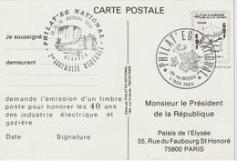 France Pseudo Entier Philateg 1986 - Postal Stamped Stationery