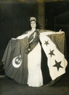 Egypte Le Caire Marianne De La République Arabe Unie Ancienne Photo 1958 - Famous People