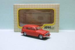 Igra - SKODA 1200 BREAK FAMILIAL 1952 Rouge Voiture Neuf 0005 NBO HO 1/87 - Road Vehicles
