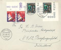 Dame Tetelbierg Schäppchen Duehlhem Märchen Berchem 1966 - Luxembourg