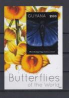 Guyana  Michel Cat.No.   Mnh/** Sheet 813 Butterfly - Guyane (1966-...)