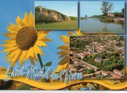 Saint-Michel-en-l'Herm Belle Multi-vues Du Village Tournesol - Saint Michel En L'Herm