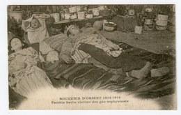 Famille Serbe Victime Des Gas Asphyxiants War 1914-1918 Victims Of Poisonous Gas Civilians Boy Baby Girl Children Enfant - Guerre 1914-18