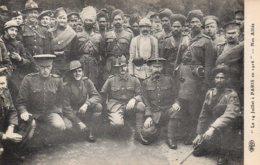 Cpa Le 14 Juillet à Paris En 1916,Nos Alliés. - War 1914-18