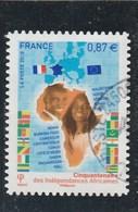 FRANCE 2010 CINQUANTENAIRE DES INDEPENDANCES AFRICAINES YT 472 - France