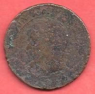 10 Centimes , NAPOLEON III Tête Nue , Bronze , 1853  D , N° F # 133.5 - France