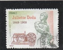 FRANCE 2009 ADHESIF JULIETTE DODU OBLITERE YT 371 - Adhesive Stamps